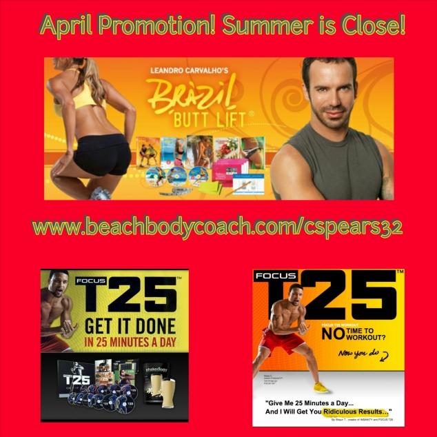 April Promotions!